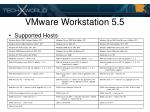 vmware workstation 5 520