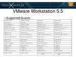 vmware workstation 5 521