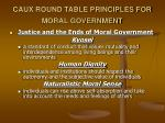 caux round table principles for moral government