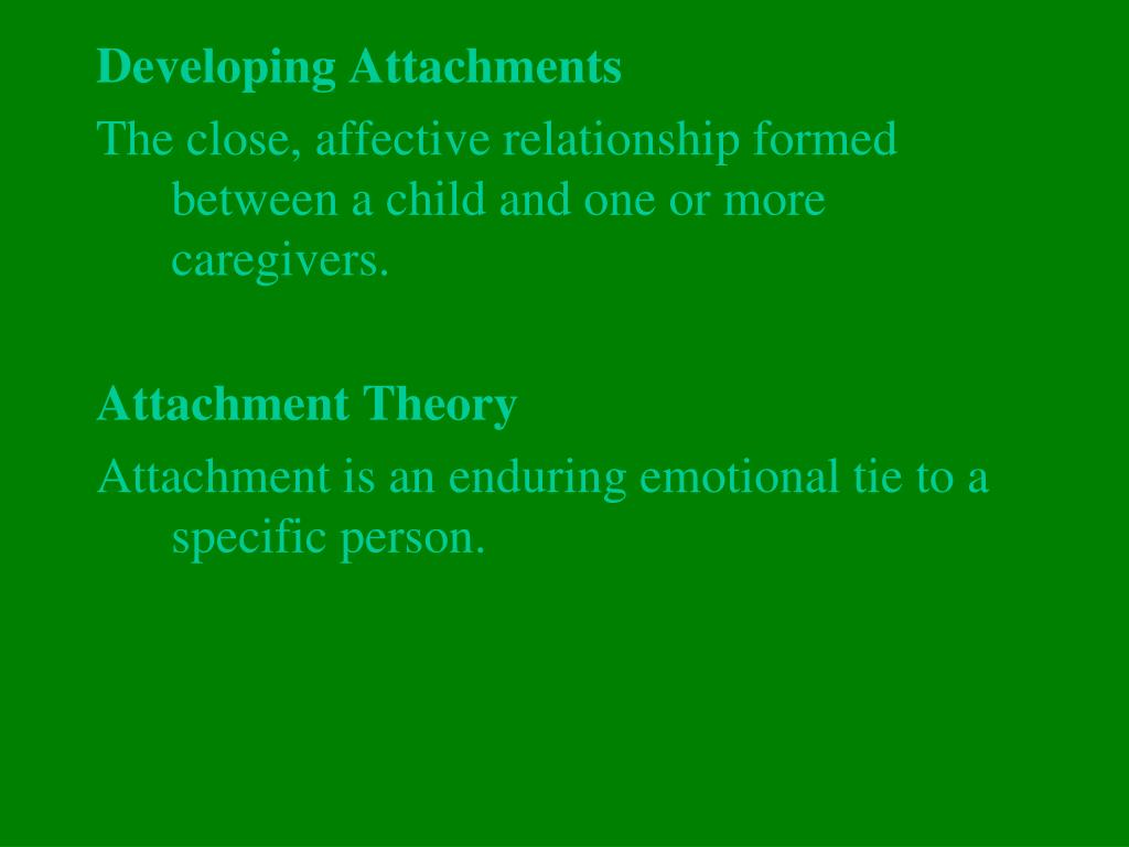 Developing Attachments