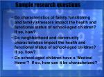 sample research questions23