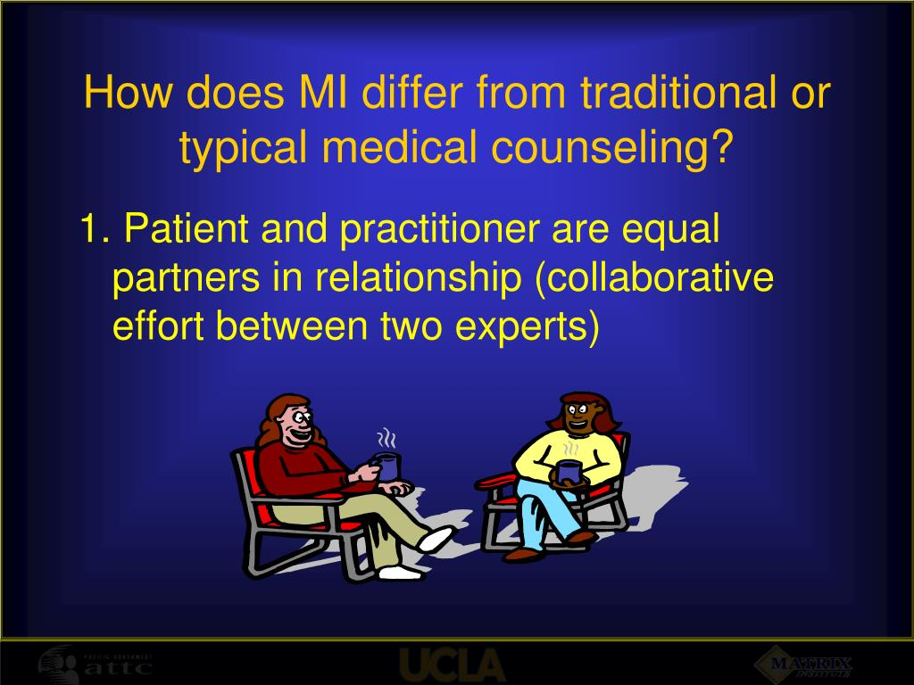 how does counselling differ from other