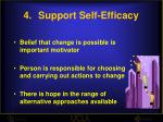 support self efficacy