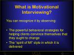 what is motivational interviewing5