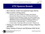 ctc systems growth