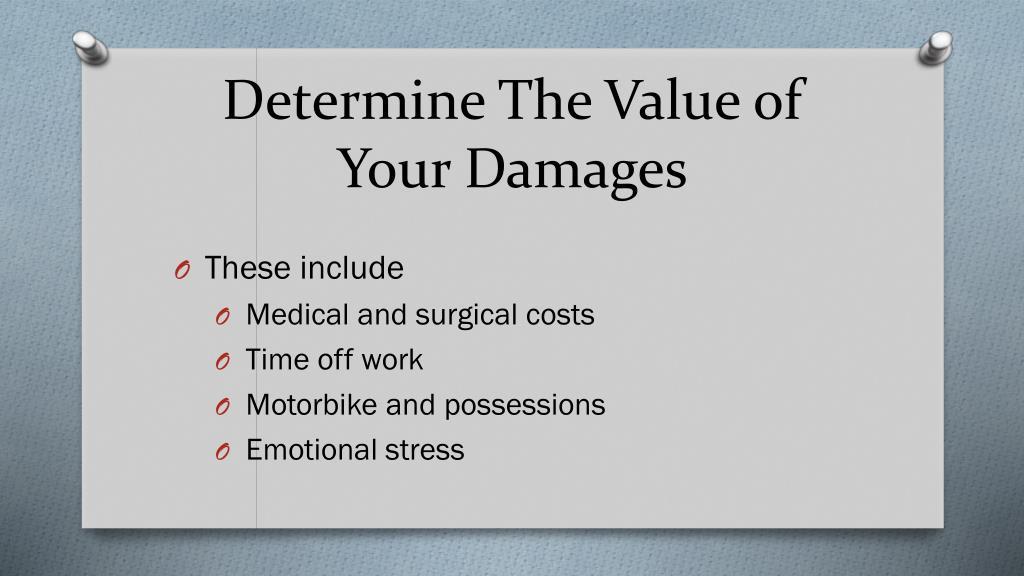 Determine The Value of