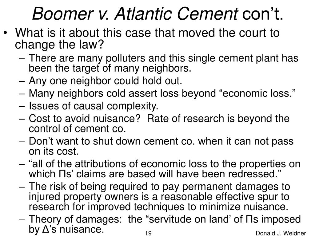 Boomer v. Atlantic Cement