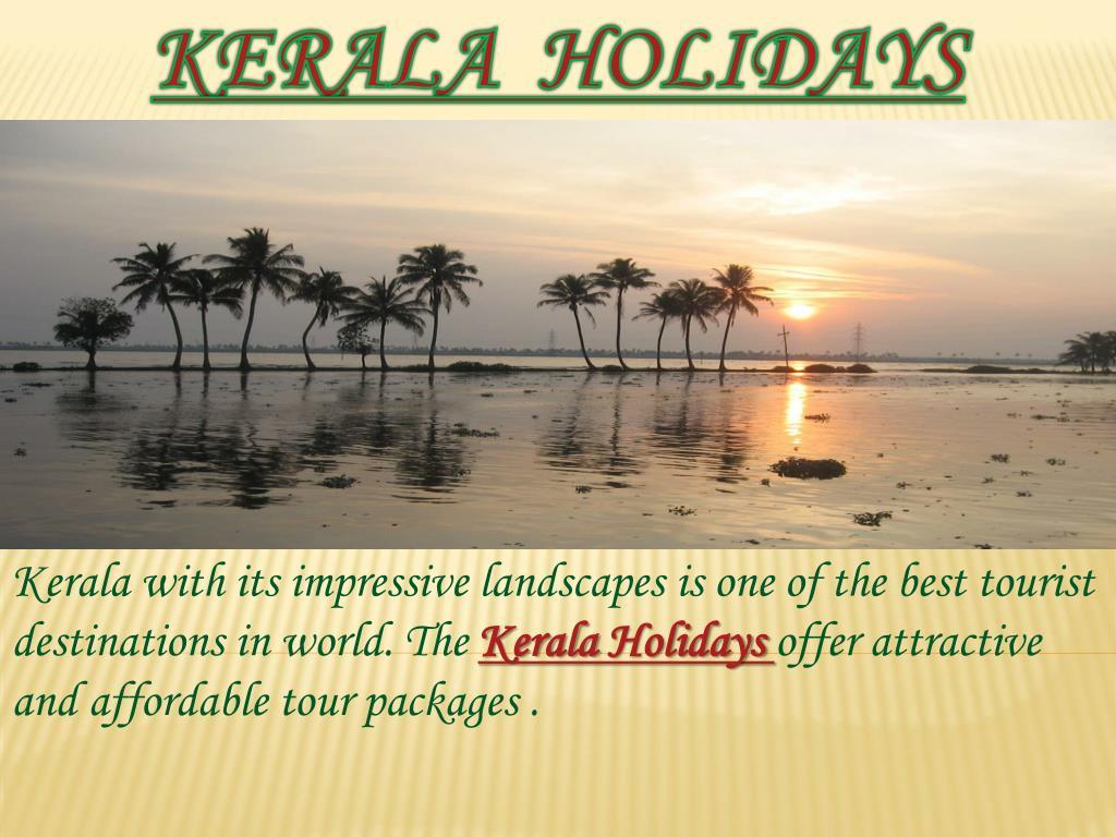 kerala holidays l.