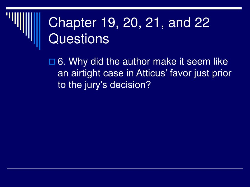 Chapter 19, 20, 21, and 22