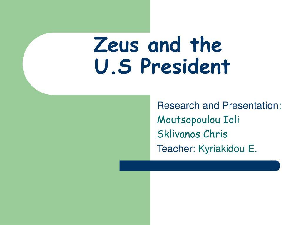 Zeus and the