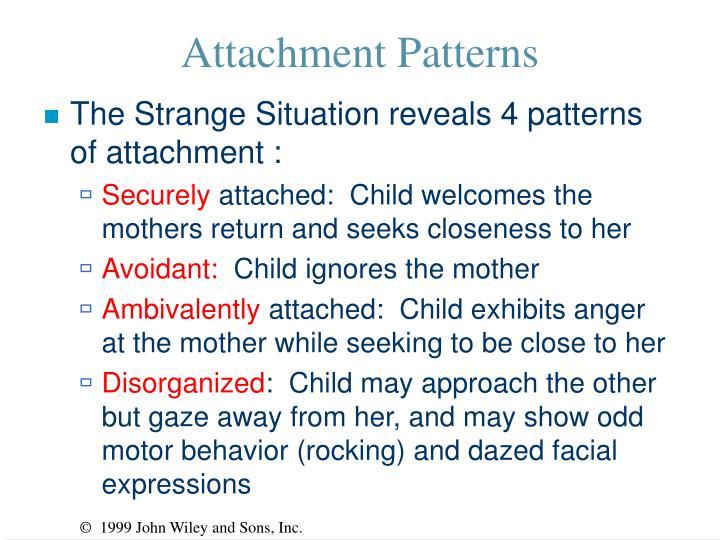 Attachment Patterns