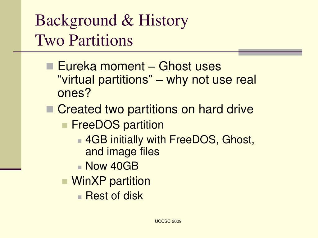 Background & History