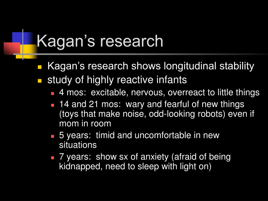 Kagan's research