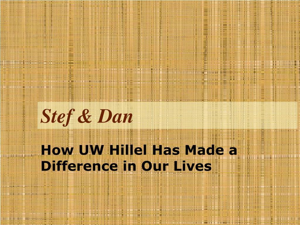 Stef & Dan