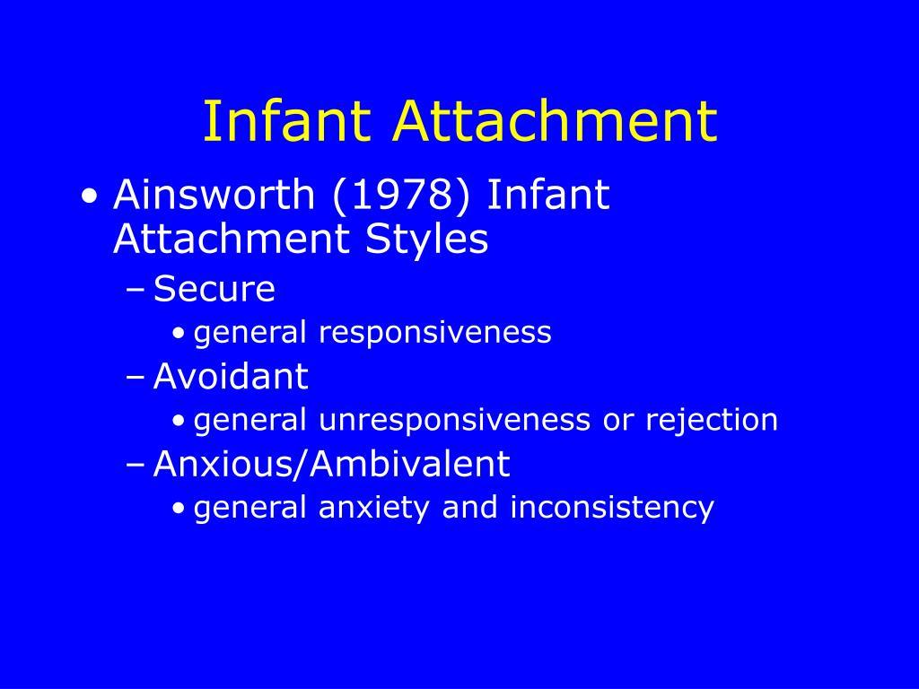 Infant Attachment