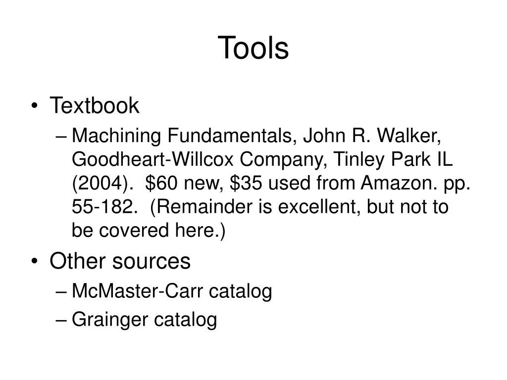 tools l.