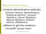 domain control areas23