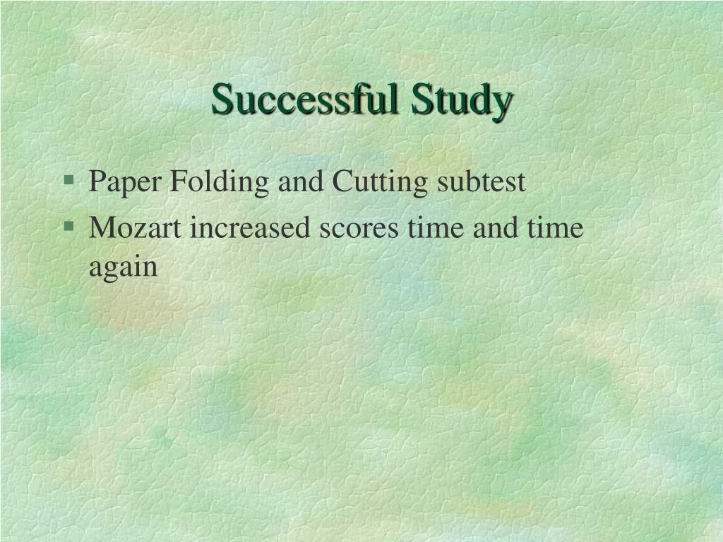 Successful Study