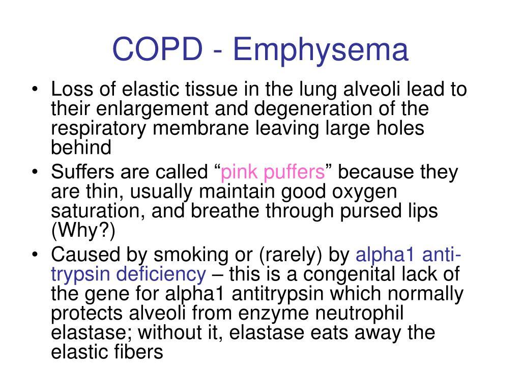 COPD - Emphysema