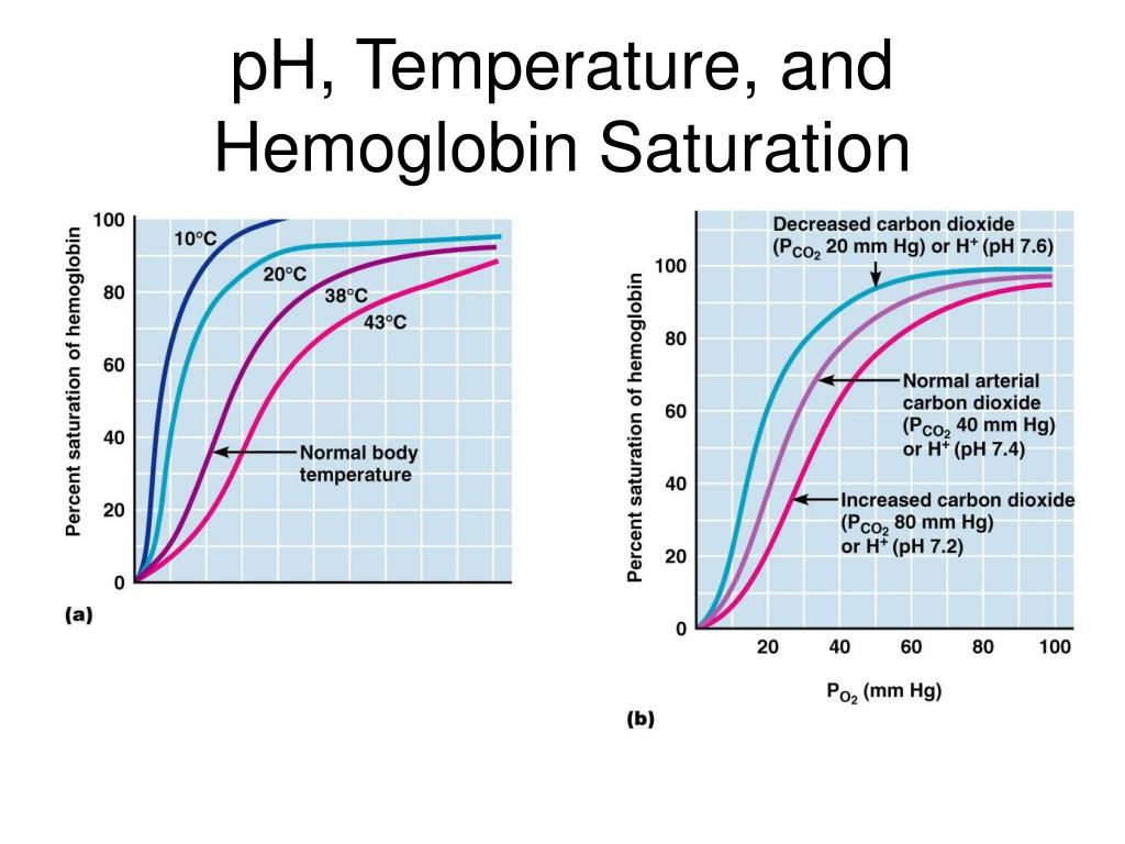pH, Temperature, and Hemoglobin Saturation
