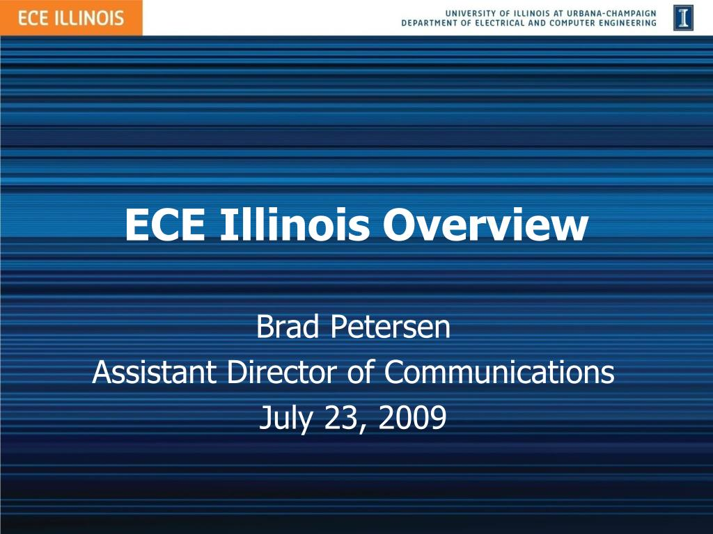 ece illinois overview l.