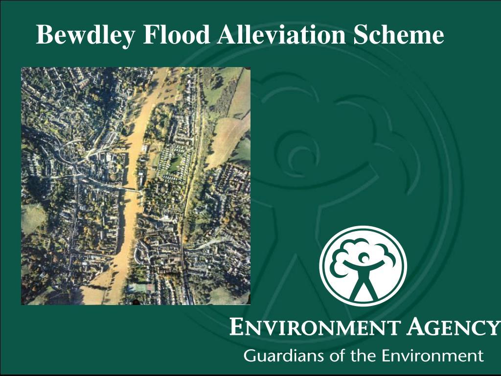 bewdley flood alleviation scheme l.