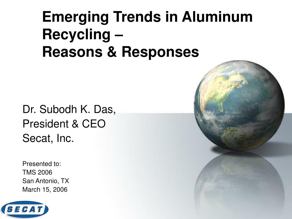 Emerging Trends in Aluminum Recycling –
