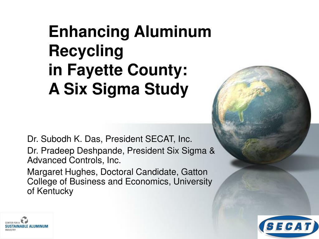 Enhancing Aluminum Recycling