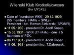 wilenski klub krotkofalowcow tnx uy5xe