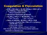 coagulation flocculation6