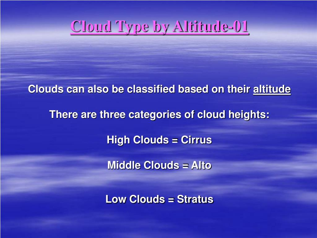 Cloud Type by Altitude-01