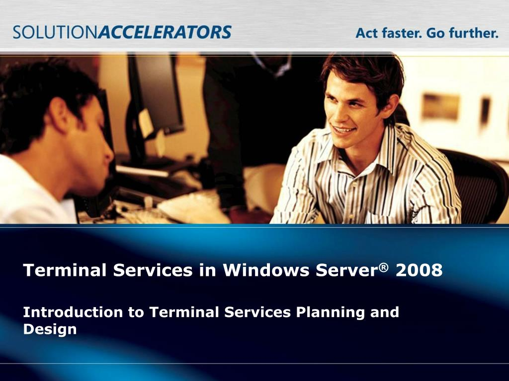 terminal services in windows server 2008 l.