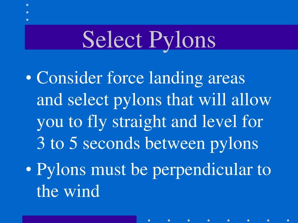 Select Pylons