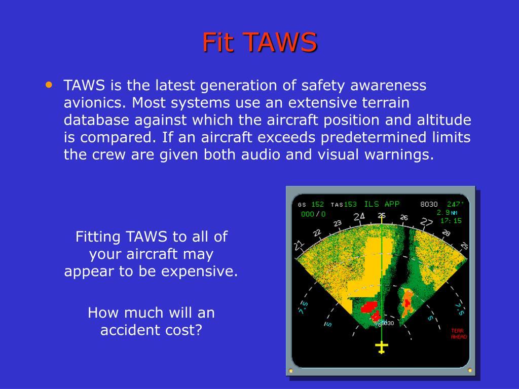 Fit TAWS