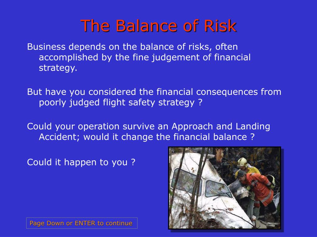 The Balance of Risk