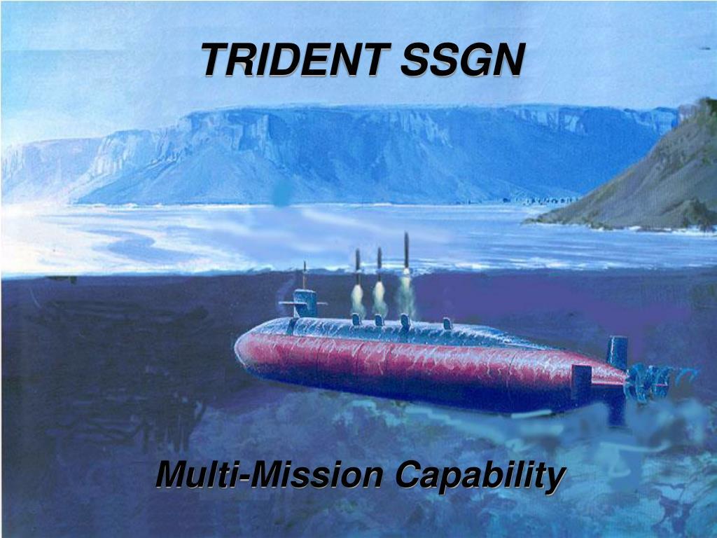 TRIDENT SSGN