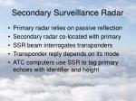 secondary surveillance radar
