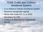 tcas traffic alert collision avoidance system