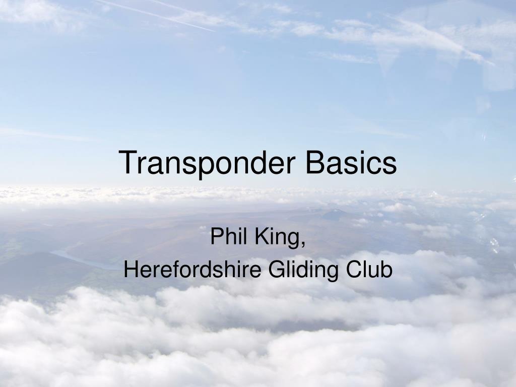 transponder basics l.