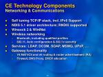ce technology components networking communications