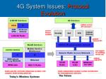 4g system issues protocol evolution