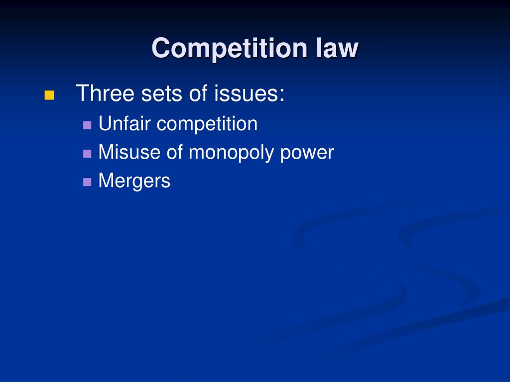 competition law l.