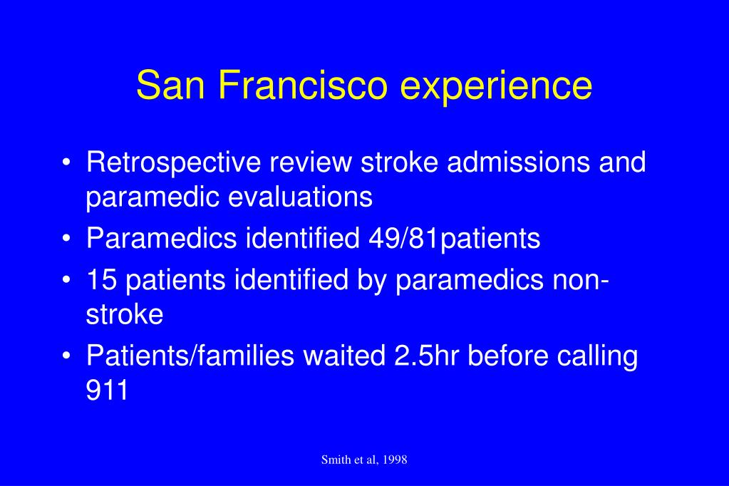 San Francisco experience