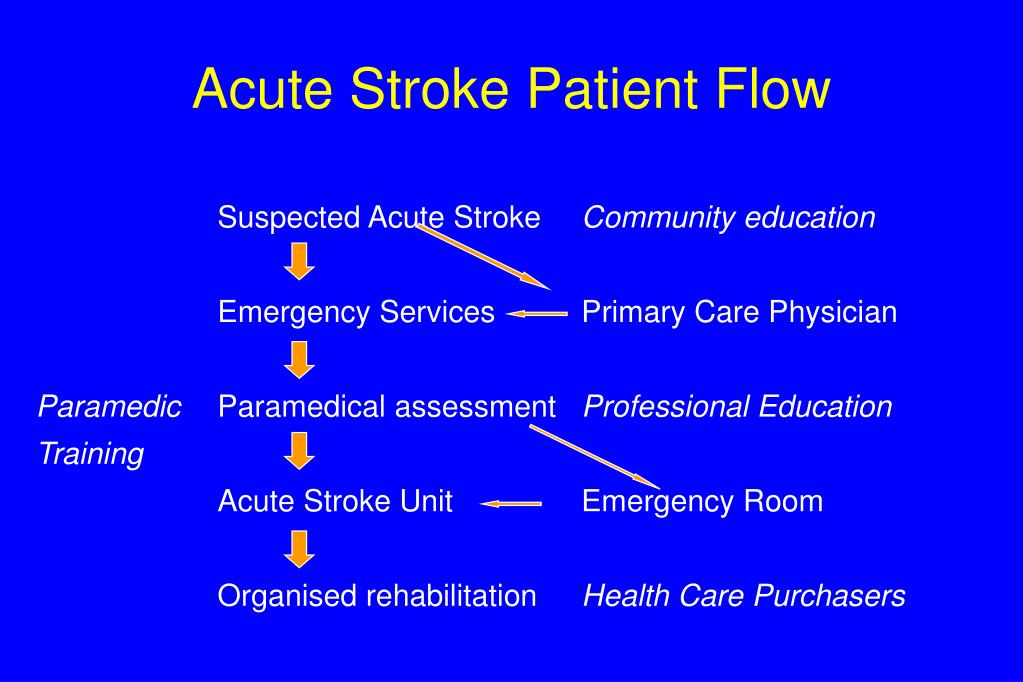 Acute Stroke Patient Flow