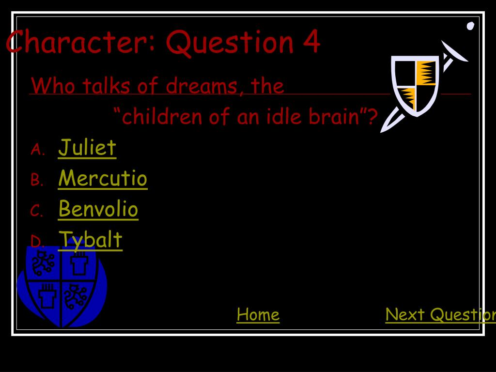 Character: Question 4
