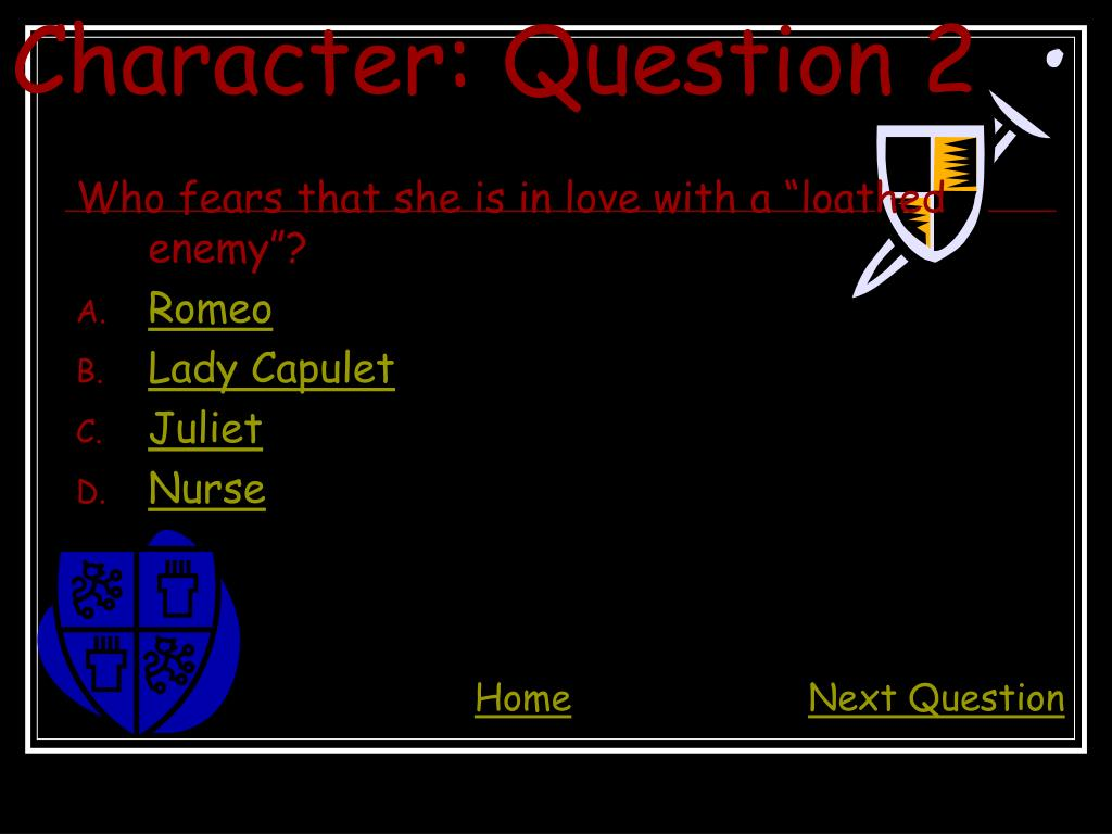 Character: Question 2