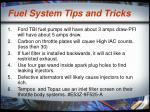 fuel system tips and tricks28
