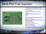 multi port fuel injection