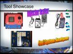 tool showcase