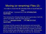 moving or renaming files 2